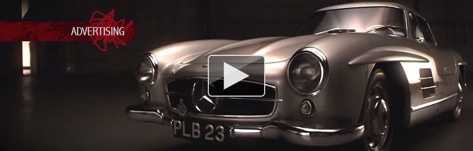 JD Classics Mercedes Gullwing TV ad