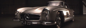 JDC Mercedes Gullwing TV ad